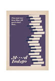 Mood Indigo Poster by Anthony Peters