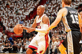 Miami, FL - JUNE 6 Ray Allen and Matt Bonner Photographic Print