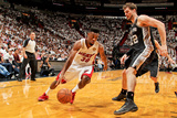 Miami, FL - JUNE 6 Norris Cole and Tiago Splitter Photographic Print