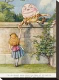 Humpty Dumpty Stretched Canvas Print