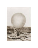 Mr. Henry Giffard's Balloon at the Tuilleries, 1878 Prints