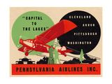 National Air and Space Museum: Pennsylvania Airlines Giclee Print