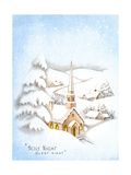 Greeting Card - Churches, Holy Night Silent Night, National Museum of American History Giclee Print