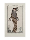 Smithsonian Institution Libraries: Costumes. Journal des dames et des modes, Plate 30 Giclee Print