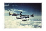 Air and Space: 361st Fight Group, Eighth Air Force Giclee Print