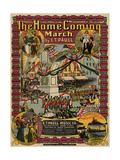 The Home Coming March, Sam DeVincent Collection, National Museum of American History Giclee Print