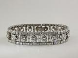 Platinum and Diamond Bracelet Photographic Print