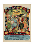 The Masquerade March Two Step, Sam DeVincent Collection, National Museum of American History Lámina giclée