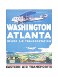 Washington Atlanta Giclee Print