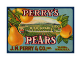 Warshaw Collection of Business Americana Food; Fruit Crate Labels J.M. Perry & Co. Giclee Print