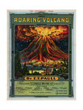 Roaring Volcano March-Twostep, Sam DeVincent Collection, National Museum of American History Giclee Print