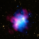 Northern Galaxy Cluster Abell 1758 Showing Effects of Collision Between Galaxy Clusters Photographic Print