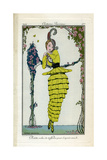 Costume Illustration by Gerda Wegener Giclee Print