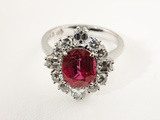 Thai Ruby Ring Photographic Print