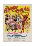 The Mardi Gras March and Two Step, Sam DeVincent Collection, National Museum of American History Lámina giclée