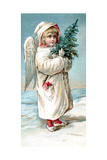 Center Warshaw Collection of Business Americana Series: Christmas Angels Giclee Print
