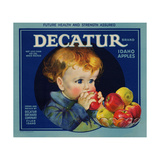 Warshaw Collection of Business Americana Food; Fruit Crate Labels, Dacatur Orchard Company Giclee Print