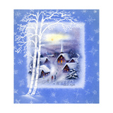 Greeting Card - Churches, Silent Night, National Museum of American History Giclee Print