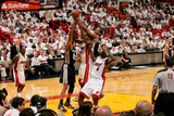 Miami, FL - JUNE 6 Kawhi Leonard and Udonis Haslem Photographic Print