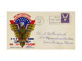National Postal Museum: U.S. Postage Advertising for War Effort, 1942 Giclee Print