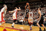 Miami, FL - JUNE 9 Kawhi Leonard and Mike Miller Photographic Print
