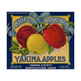 Warshaw Collection of Business Americana Food; Fruit Crate Labels, Yakima Horticultural Union Giclee Print