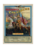 Pershing's Crusaders March Militaire, Sam DeVincent Collection, National Museum of American History Giclee Print