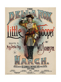 The Della Fox Little Trooper, Sam DeVincent Collection, National Museum of American History Giclee Print