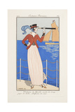 Smithsonian Libraries: Costumes Parisiens by Georges Barbier Giclee Print