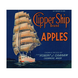 Warshaw Collection of Business Americana Food; Fruit Crate Labels, Captain Robert J. Graham Giclee Print