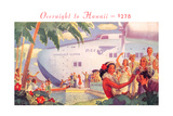 Overnight to Hawaii Giclee Print
