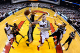 Miami, FL - JUNE 9 Chris Andersen and Tiago Splitter Photographic Print