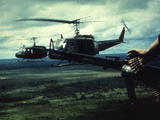 Air and Space: U.S. Army Bell UH-1 Iroquois Fotografická reprodukce
