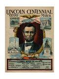 Lincoln Centennial Grand March, Sam DeVincent Collection, National Museum of American History Giclee Print