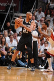 Miami, FL - JUNE 6 Tim Duncan and Udonis Haslem Photographic Print