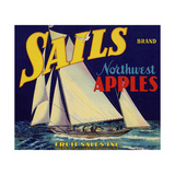 Warshaw Collection of Business Americana Food; Fruit Crate Labels, Fruit Sales Co. Giclee Print