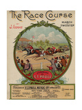 The Race Course March-Twostep, Sam DeVincent Collection, National Museum of American History Giclee Print