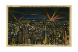 New York World's Fair of 1939 As Seen from Empire State Building Giclee Print