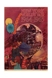 World's Fair: New York World's Fair 1964-1965 Giclee Print