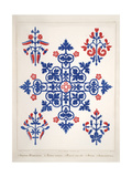 Smithsonian Libraries: Augustus Welby Northmore Pugin; Floriated Ornament Stampa giclée