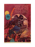 Center Warshaw Collection, Centennial Expositions, New York World's Fair Giclee Print