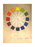 Color Wheel Giclee Print