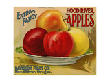 Warshaw Collection of Business Americana Food; Fruit Crate Labels, Davidson Fruit Co. Giclee Print