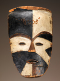 Face Mask; National Museum of African Art Papier Photo