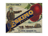 Americana Food, Fruit Crate Labels, Clark-Baker Co. National Museum of American History Lámina giclée