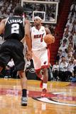 Miami, FL - JUNE 6 LeBron James and Kawhi Leonard Photographic Print