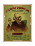 Ticklish Sensation, Ragtime Composers and Publishers, Sam DeVincent Collection Giclee Print