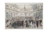 Smithsonian Libraries: The Inauguration Reception Giclee Print