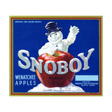 Warshaw Collection of Business Americana Food; Fruit Crate Labels, Northwest Fruit Distributors Giclee Print