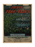 Dance of the Fire-Flies, Sam DeVincent Collection Giclee Print